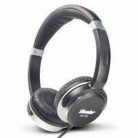 Quality Deluxe Hi-Fi Monitor Stereo Headphone with Metal Finish on Earcups for sale