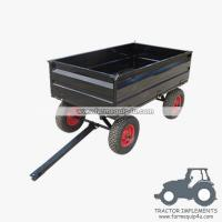Quality 4WCART-17  4Wheel 17cubic. Utility Cart Trailers for sale