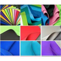 Buy Environment SBR Neoprene , Smooth Skin SBR Rubber Sheet For Sports at wholesale prices