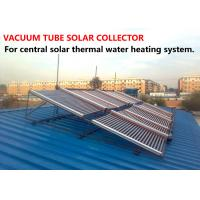 Quality Practical Vacuum Tube Solar Collector Φ58*1800 With Ground Mounting Bracket for sale