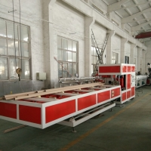 China Waste Draining 75KW PVC Sewage Pipe Extrusion Machine on sale