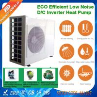 Quality Air to Water Cooling Heating High COP Heat Pump with Dual rotary DC Inverter Compressor for sale