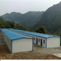Quality Low cost steel frame prefab house for sale