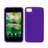 Quality Cellphone Cases for BlackBerry 10, Made of Silicone and PC Materials, Available in Various Colors for sale
