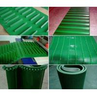 Industrial Equipment Incline PVC Conveyor Belt With Extruded Polyurethane Profiles