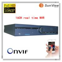China SunView SV-N1516 16CH 1080P HD ONVIF 2.0 network video recorder, NVR for IP camera on sale