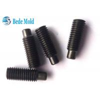 Quality Din915 Hex Socket Set Screws with Dog Point / Dog Point Grub Screw Materials Stainless Steel A2-70 for sale