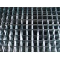 Quality Hot sale black welded wire fence mesh panel for construction, Galvanized welde wire mesh for sale