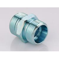Quality Metric Straight Thread Fittings , Male Bsp Threaded Pipe Fittings 1CB / 1DB for sale