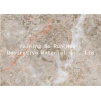 Quality Home Wall Decor Adhesive Vinyl Film , Marble Effect Plastic Sheet Smoke Proof for sale