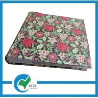 Quality Home PP Pocket Personalized Photo Albums with Flower Decorative Hard Paper Cover for sale