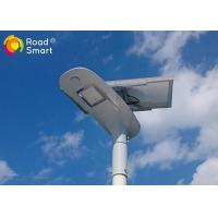 Quality Die - Cast Aluminum Integrated Solar Powered Outdoor Lights 210lm / W  Batwing Lens for sale
