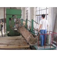 MJ3310 wood cutting vertical band saw machine with CNC log carriage/sport car for auto working