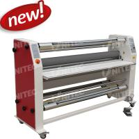 China 6mm / Minute Roll To Roll Lamination Machine Cold Heavy Duty Laminators BU-1600RFZ-Y on sale