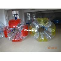 China Custom Made 1.2m PVC Inflatable Bumper Ball Durable Safety For Kids Playing on sale