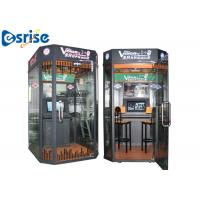 Quality Easy Dual Game Karaoke Machine , Mobile Vocal Booth Internet Music Database for sale