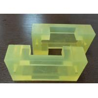 Quality Abrasion Resistance Industrial Polyurethane Coating Parts Bushing Replacement / Polyurethane Parts for sale