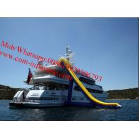 China FreeStyle Cruiser Inflatable Water Slides Inflatable Water Slide For Boat Navigation on sale