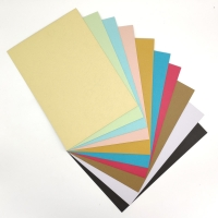 Quality A4 Binding Cover Paper Colored Embossed Leather Texture Paper for sale