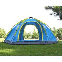 Quality Automatic Instant 5 to 8 Person Single Layer 2 Doors Camping Tent(HT6050) for sale