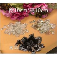 China Garment Accessories  Butterfly Embroidery Sequin Applique with Different Color on sale