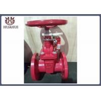 SS410 Ductile Iron Gate Valve With Flatbed Seat Lightweight DN50 Corrosion Resistant