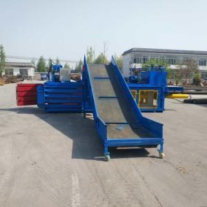 Quality Mini Small baler scrap plastic/waste paper/cardboard compactor baler machinery hydraulic baler for sale