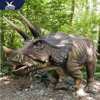Quality Wonderful Party Decoration Realistic Dinosaur Models Fire Resistance for sale