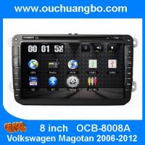 China Ouchuangbo Car Radio DVD Player GPS Navi HD Video for Volkswagen Magotan Golf 5 2006-2012 OCB-8008A on sale