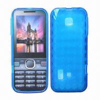 Quality Cellphone Cases for Huawei Verge M570, Made of TPU with rhombus pattern for sale