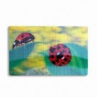 Quality Large Lenticular Picture with 3D Effect, Available in Various Colors for sale