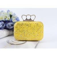 Buy cheap Fashion product ladies mini handbags pu glitter leather clutch bags evening bag from wholesalers