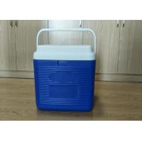 Quality 24L Plastic Foam Green Cold Chain Pcm Packaging Cooler Box With Handle In Medical for sale