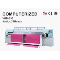 Buy cheap Tricolor Computerized Embroidery Machine , Automatic Quilting Machine Easy Operation from wholesalers