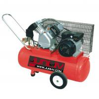 Quality 3HP Car Air Compressor , Tire Air Compressor 65*46mm*2 Cylinder 100L Oil Lube for sale