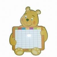 Quality Fridge/Refrigerator Magnet Memo Board, Various Ink Colors are Available for sale