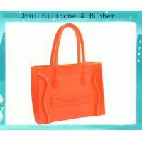 Quality Colorful washable large-sized silicone handbag for shopping for sale