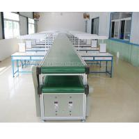 Simple Operation Assembly Line Conveyor , Conveyor Belt Assembly System With Double Layer