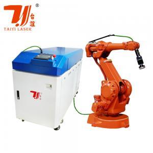 China 6 Axis Robot Arm 3mm 500W Fiber Metal Laser Welding Machine on sale