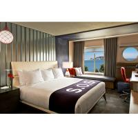 Quality Elegant Luxury Hotel Bedroom Furniture Sets Double Dowel Eco Friendly for sale
