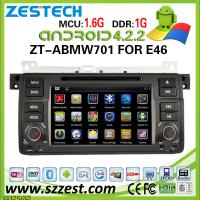Quality ZESTECH for bmw e46 car cd mp3 mp4 player with gps navigation Android system for sale