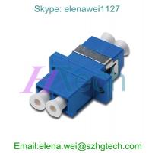 Quality Singlemode Duplex LC apc Fiber Optic Adapter Telecom Type for sale