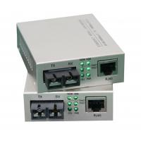 Single Mode Fiber Optic Media Converter Gigabit To Rj45 1550nm 10Base-T / 100Base-TX