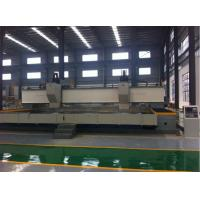 high speed CNC drilling machine for big wind tower flanges 8mx8m, model TLMZ8080