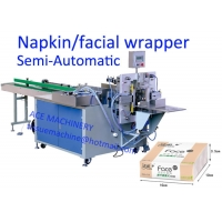 China 15 Bags/Min 220V  Pop Up Tissue Paper Packing Machine on sale