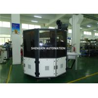 Ruler / Plywood Silk Automatic Screen Printing Machine Turntable Type