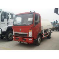 Quality 6 Wheels Oil Tanker Truck 91HP Diesel Engine 5 Ton Payload Capacity for sale