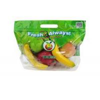 Quality Eco Reusable Clear Fresh Fruit Bags Stand Up Food Grade For Grape / Cherry for sale