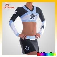Quality ODM Girls Dance Cheerleading Wear Moisture Wicking Sports Clothing for sale