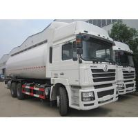 Quality SHACMAN F3000 Bulk Cement Truck  6x4 28m3 Cement Delivery Truck Steel Structure for sale